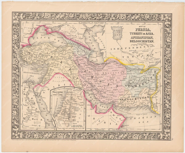 Turkey and Persia 1864