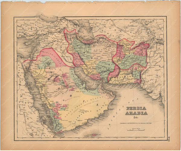 Arabia and Persia 1857