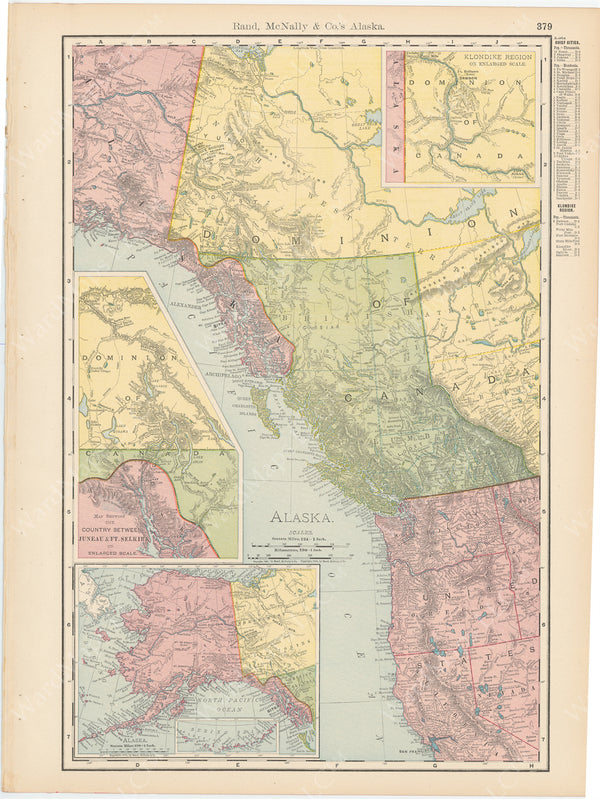 Alaska, British Columbia, and Pacific Northwest 1903
