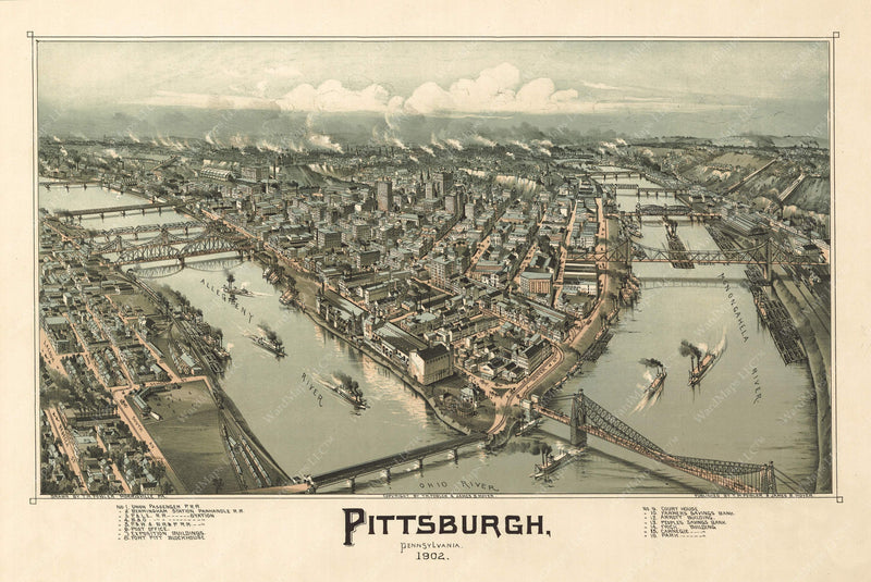 Pittsburgh, Pennsylvania 1902