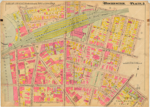 Rochester, New York 1910 Plate 003