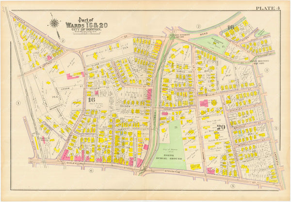 Dorchester, Massachusetts 1910 Plate 004