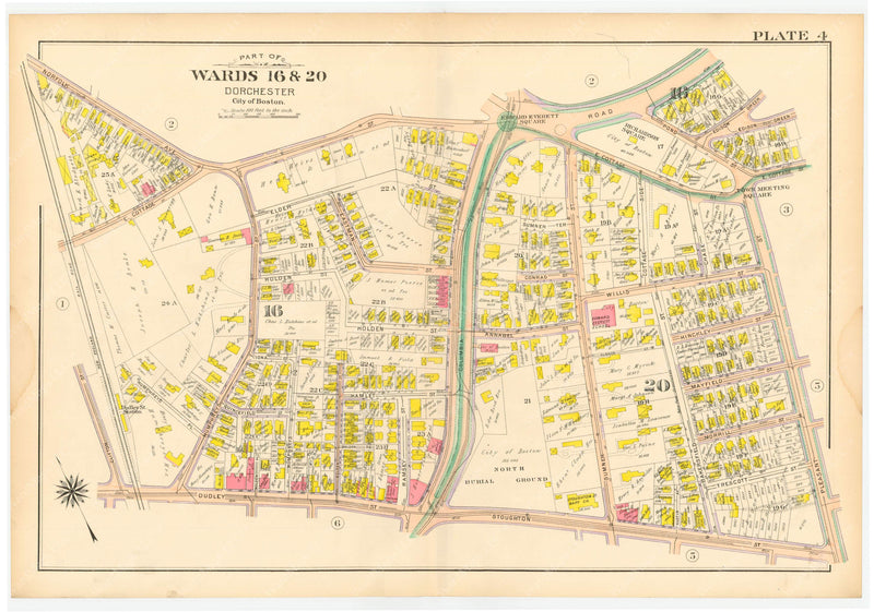Dorchester, Massachusetts 1904 Plate 004
