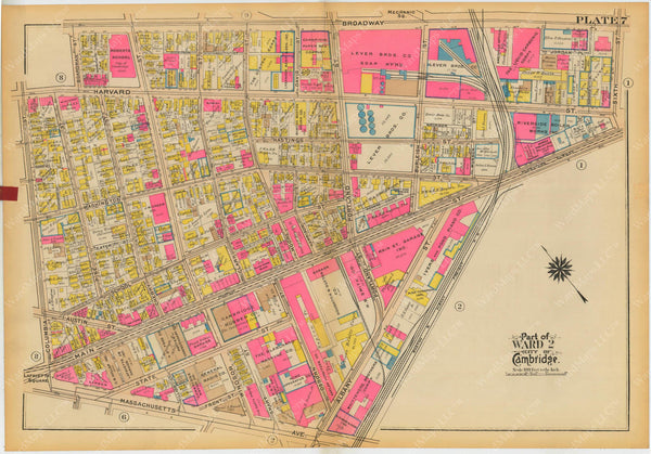 Cambridge, Massachusetts 1930 Plate 007