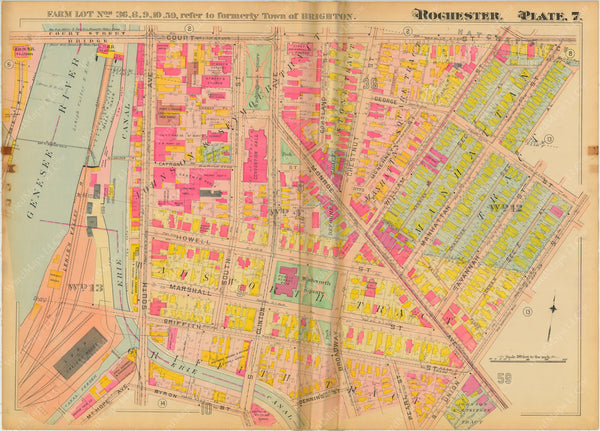 Rochester, New York 1910 Plate 007