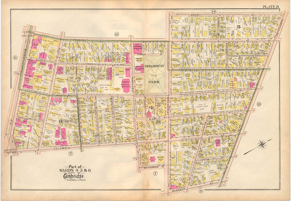 Cambridge, Massachusetts 1903 Plate 008