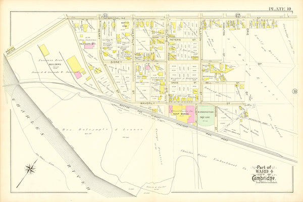 Cambridge, Massachusetts 1894 Plate 010