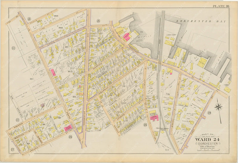 Dorchester, Massachusetts 1894 Plate 010