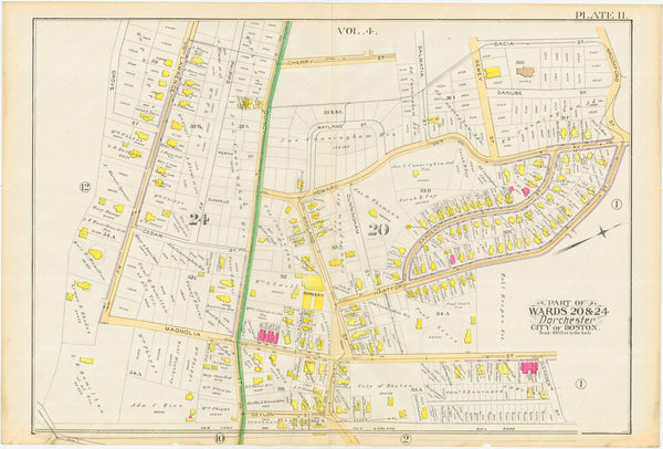 Dorchester, Massachusetts 1889 Plate 011