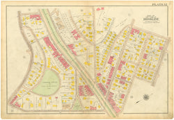 Brookline, Massachusetts 1919 Plate 012