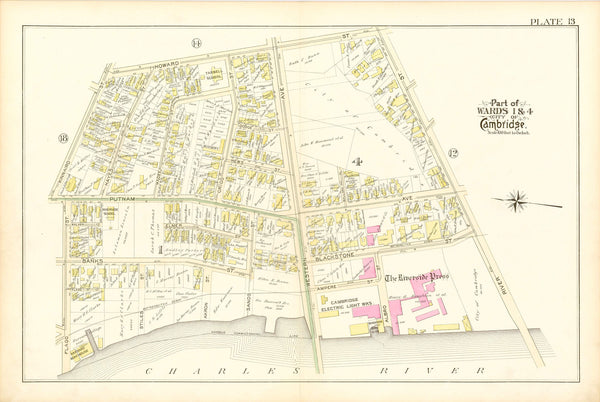 Cambridge, Massachusetts 1894 Plate 013