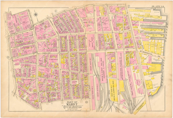Boston, Massachusetts 1895 Plate 014
