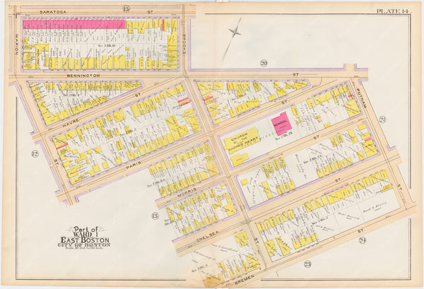 East Boston, Massachusetts 1892 Plate 014