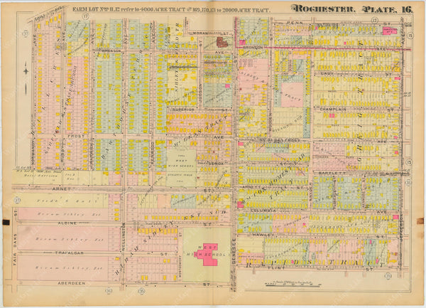 Rochester, New York 1910 Plate 016