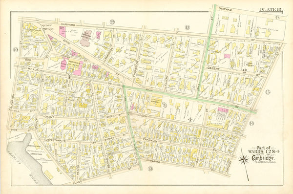 Cambridge, Massachusetts 1894 Plate 018