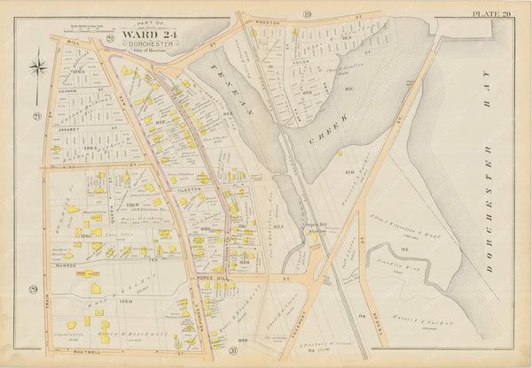 Dorchester, Massachusetts 1894 Plate 020