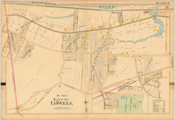 Lowell, Massachusetts 1896 Plate 020