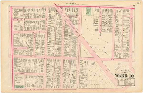 Rochester, New York 1875 Plate 020