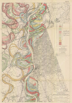 Mississippi River Alluvial Valley 1944: Plate 022, Sheet 012