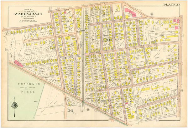 Dorchester, Massachusetts 1904 Plate 023