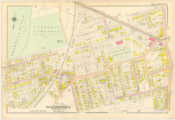 Dorchester, Massachusetts 1904 Plate 024