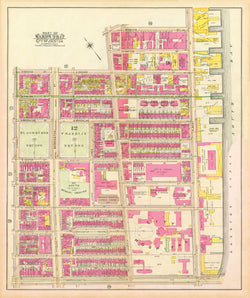 Boston, Massachusetts 1902 Plate 26 and 27 Composite