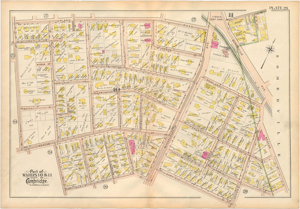 Cambridge, Massachusetts 1903 Plate 026