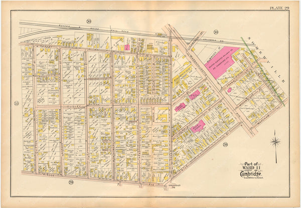 Cambridge, Massachusetts 1903 Plate 029