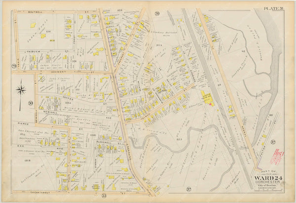 Dorchester, Massachusetts 1894 Plate 031