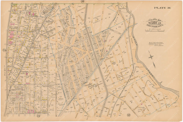 The Bronx 1885 Plate 036