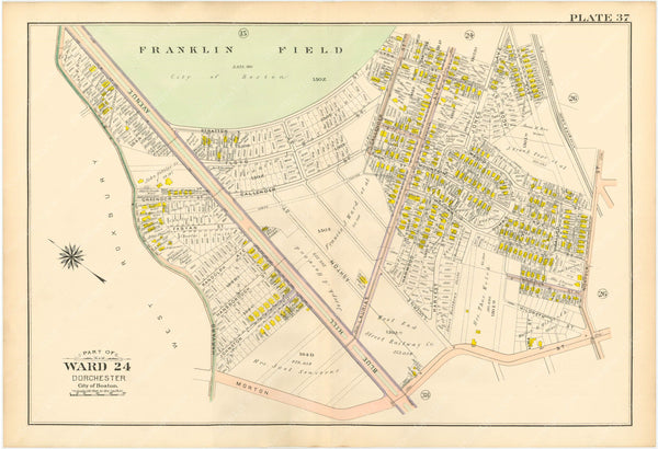 Dorchester, Massachusetts 1904 Plate 037