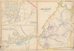 Essex County, New Jersey 1890 Plate 037: Millburn