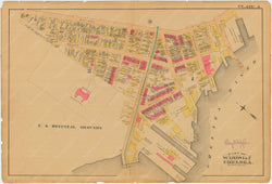Chelsea, Revere, and Winthrop, Massachusetts 1886 Plate A: Chelsea