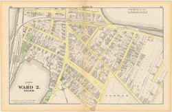 Salem, Massachusetts 1874 Plate D