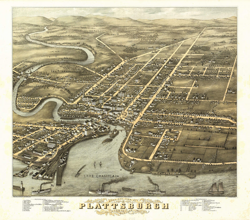 Plattsburgh, New York 1877
