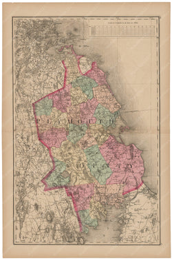 Plymouth County, Massachusetts 1871
