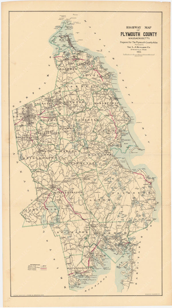 Plymouth County, Massachusetts 1903