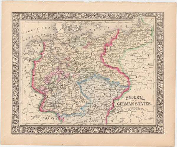 Prussia and German States 1864