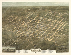 Raleigh, North Carolina 1872
