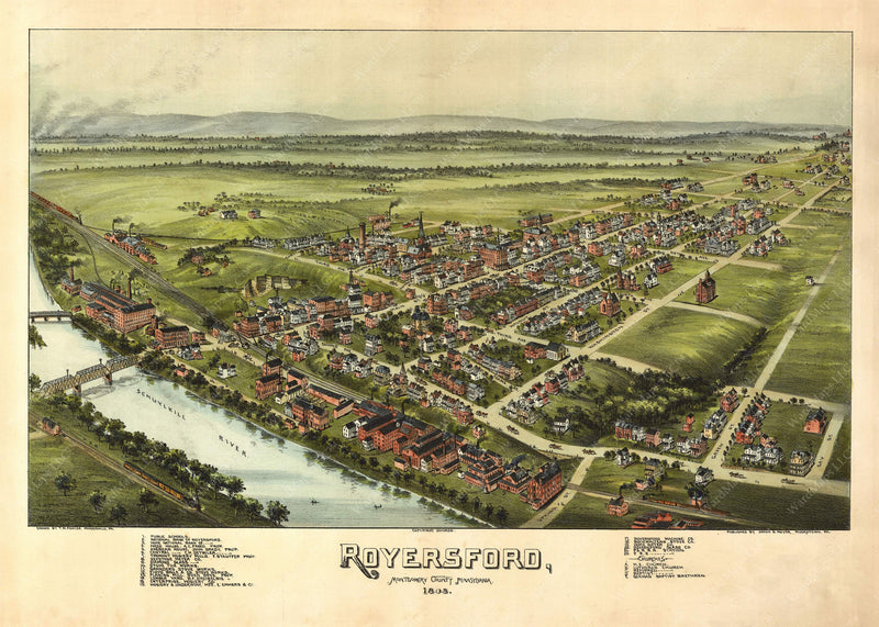 Royersford, Pennsylvania 1893