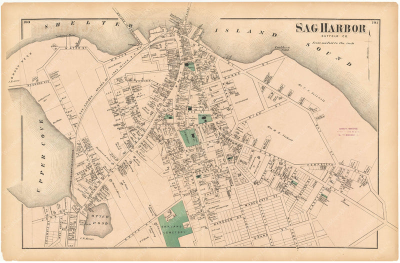 Southampton: Sag Harbor, New York 1873