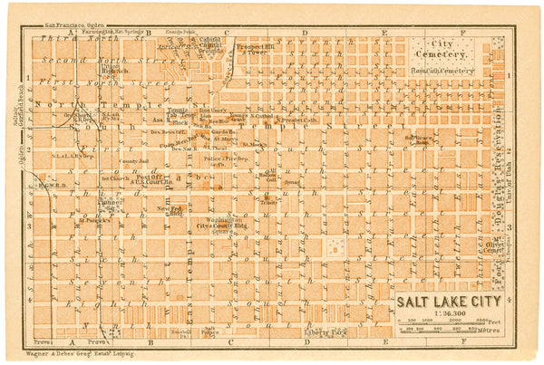 Salt Lake City, Utah 1904