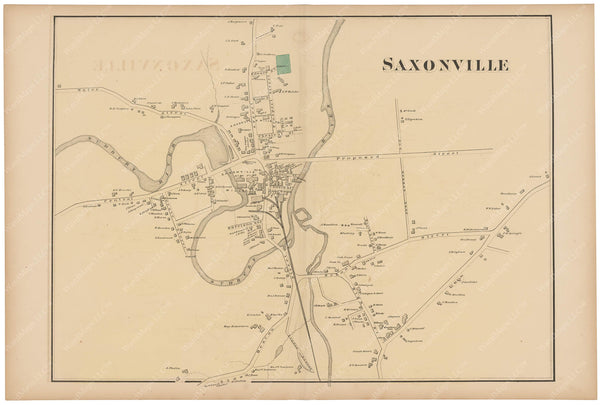 Framingham: Saxonville, Massachusetts 1871