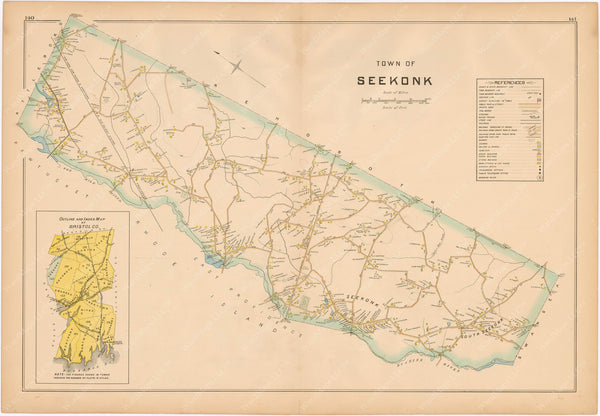Seekonk, Massachusetts 1895