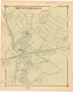 Framingham, Massachusetts 1875