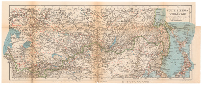 Russia 1914: South Siberia and Turkestan