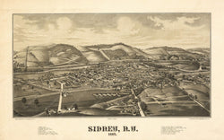 Sidney, New York 1887