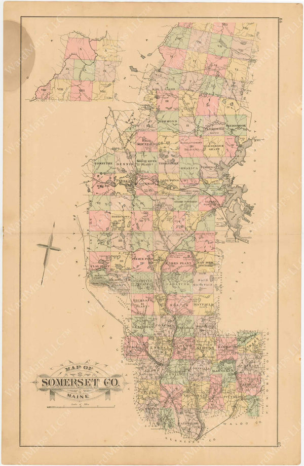 Somerset County, Maine 1894-95