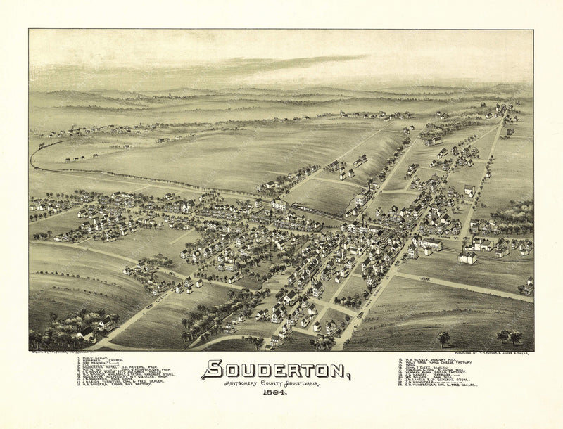 Souderton, Pennsylvania 1894