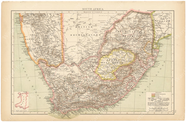 Africa 1895: Southern Part